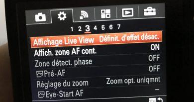 Sony A7m2 : prise de vue avec flash